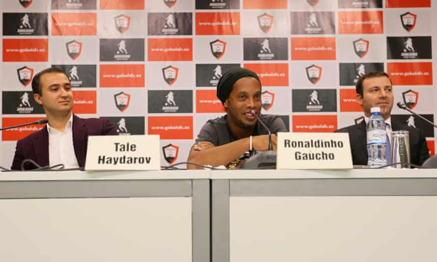 Tale Heydarov and Ronaldinho