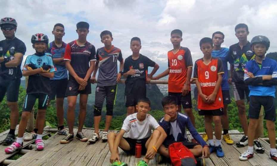 Members of the Wild Boars football club have been trapped in the Tham Luang cave for 12 days.
