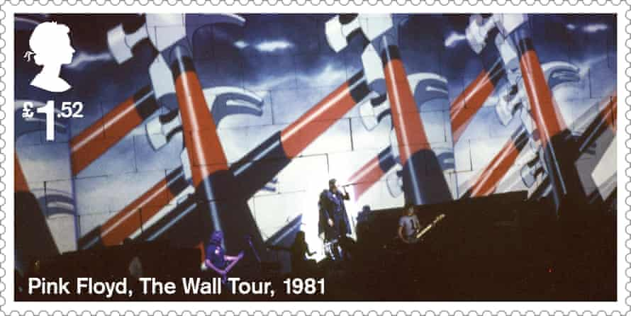 The Wall tour stamp