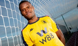 Mbwana Samatta was signed by Aston Villa for £8.5m from the Belgian club Genk in January.