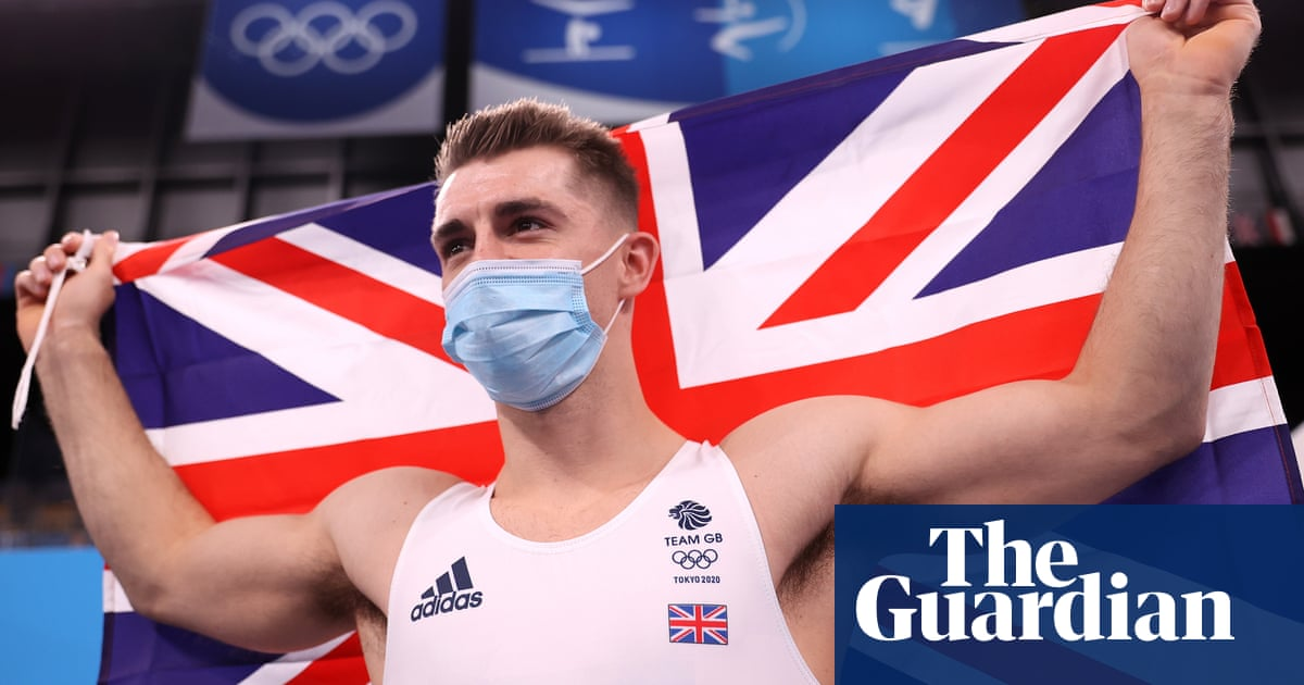 Max Whitlock retains his Olympic title with pommel horse gold for Team GB