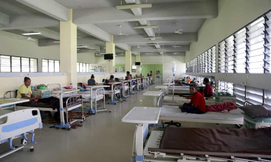 Port Moresby general hospital. PNG now has 153 confirmed coronavirus cases.