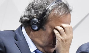 Michel Platini has submitted his candidacy for Fifa's presidential election but the world body will not rule on his eligibility while he is banned.