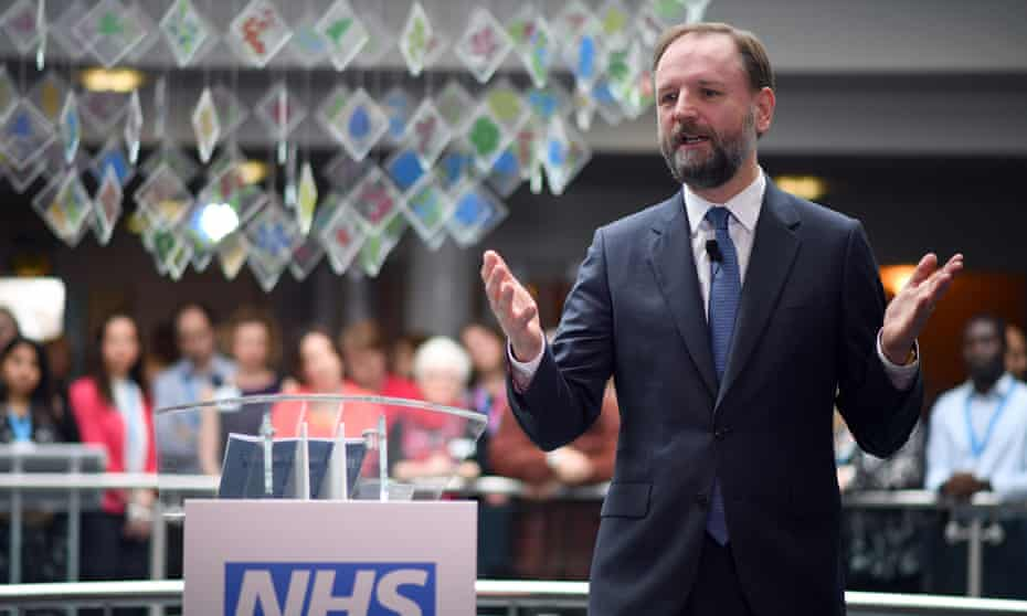 NHS England's chief executive Simon Stevens