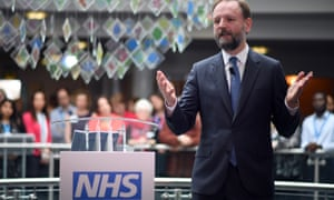 The NHS chief executive, Simon Stevens