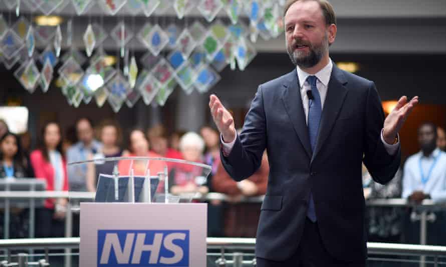 The NHS chief executive, Simon Stevens