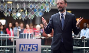 NHS England's chief executive, Simon Stevens
