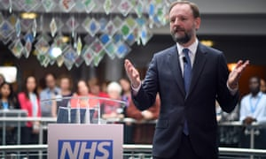 'Sometimes, people doing tough work need a bit of encouragement and applause. Simon Stevens is one of them.'