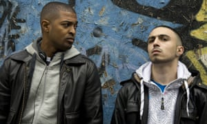 Deacon with Noel Clarke in Adulthood. Photograph: Allstar/Cipher Films
