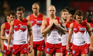 Swans need to defy AFL history after fourth straight defeat