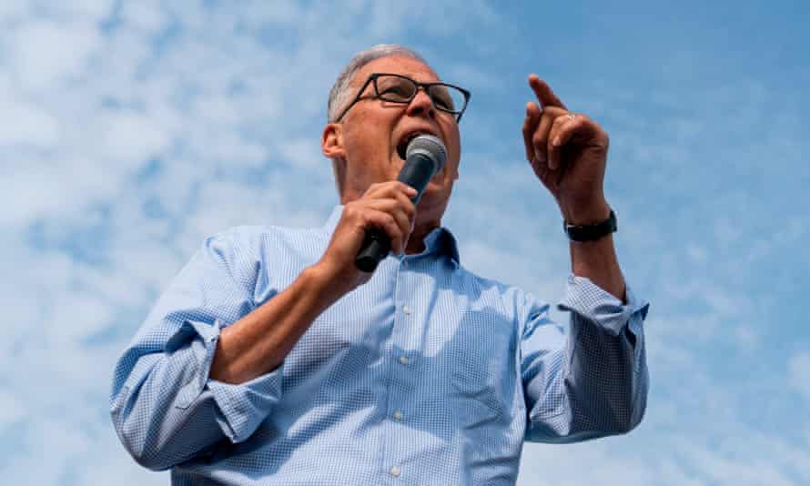 Jay Inslee focused his campaign on the climate crisis.