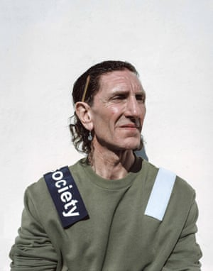 Malcolm, Age 54, Painter and Decorator, Glebeland Street Wearing jumper by Matthew Miller