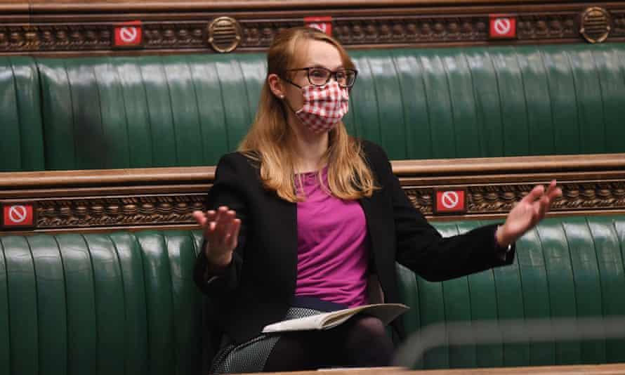 Shadow democracy minister, Cat Smith
