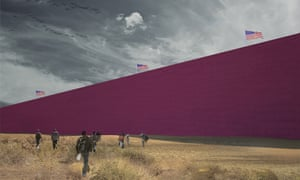Estudio 314, rendering from Prison Wall Project (2016).