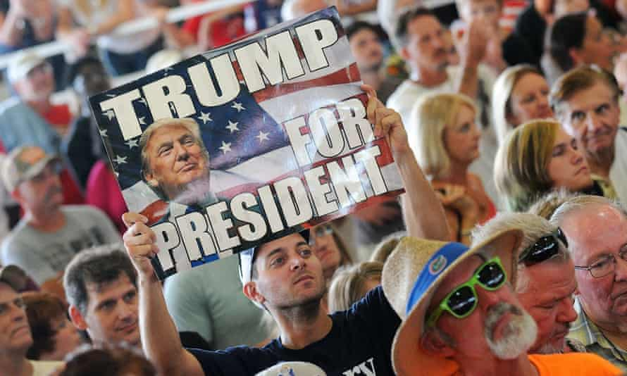 Trump made a stop in Ocala, Florida, one of several on his swing through the battleground state.