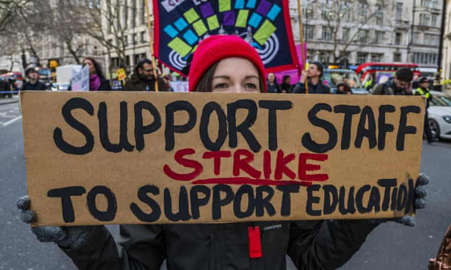 Staff at 74 UK universities went on strike over insecure jobs in February and March.