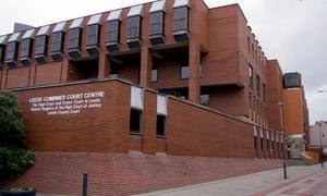 Combined court building in Leeds
