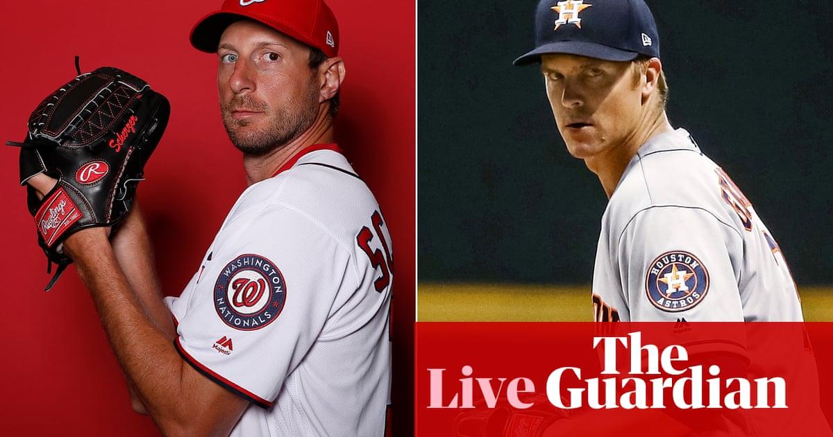 World Series Game 7: Washington Nationals v Houston Astros – live!