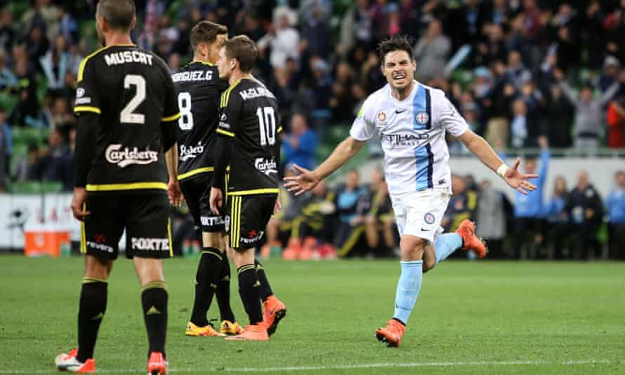 Bruno Fornaroli scored twice in Melbourne City's win over Wellington, which saw them go top of the A-League ladder.