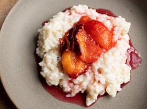 Opal fruits: sweet spiced rice and plums.