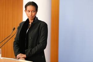 Ayaan Hirsi Ali in Berlin in 2015.