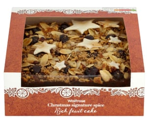 Waitrose Christmas Signature Spice Rich Fruit Cake