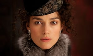 Keira Knightley as Anna Karenina in Joe Wright's 2012 film adaptation.