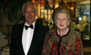 Michael Spicer with Margaret Thatcher