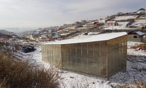 Inspired by yurts and Russian dolls ... GerHub community centre in Ulaanbaatar.