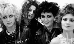 Caught in a whirlwind of controversy … the Slits.