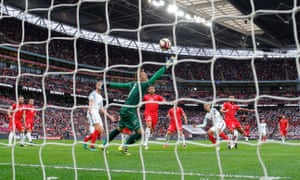 England's Dele Alli scores the second goal in the 2-0 win against Malta in the World Cup 2018 qualifying match at Wembley