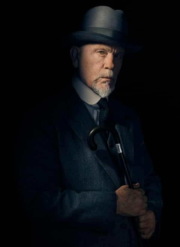 John Malkovich as Hercule Poirot in the BBC adaptation of The ABC Murders.