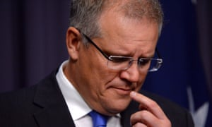 Scott Morrison in 2014. He expressed 'pretty strong views about late term procedures', according to a high-level official at the immigration department