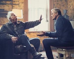 Lance Henriksen and Viggo Mortensen in Falling