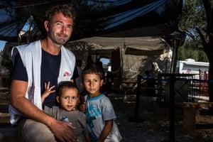 Luca Fontana, field coordinator of MSF Greece on Lesbos