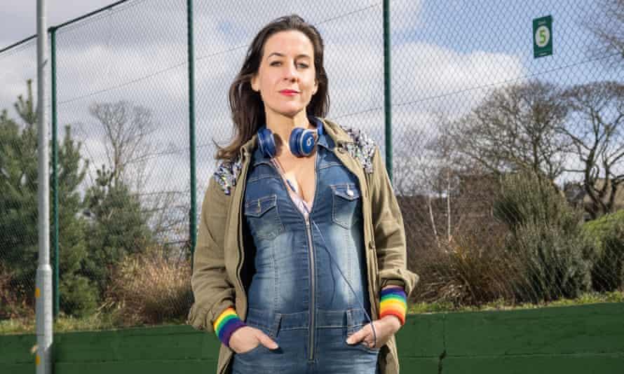 Elizabeth Melinek in Clissold Park