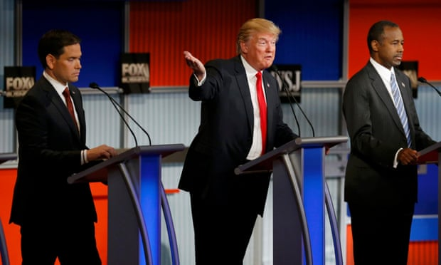 Republican debate reveals attack lines against Hillary Clinton