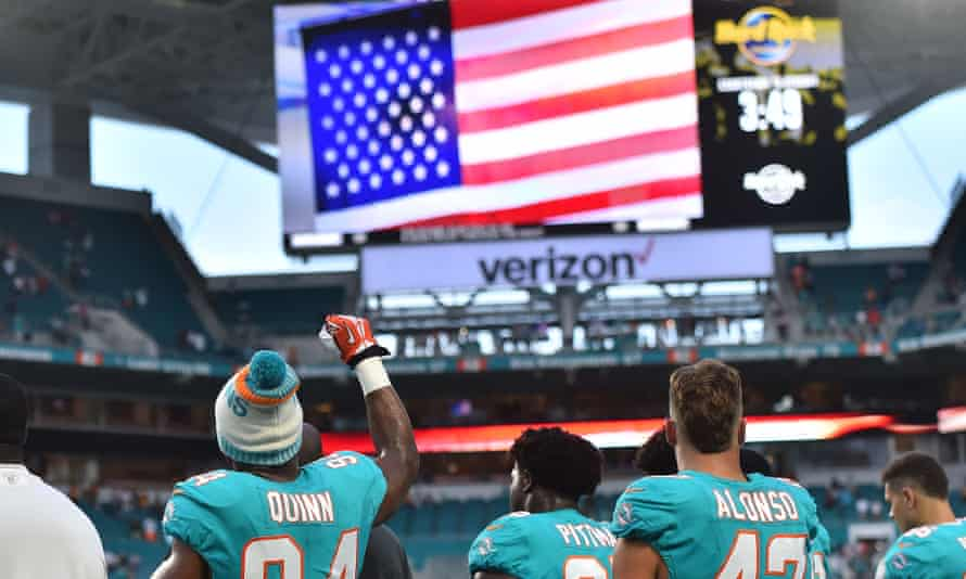 NFL player protests