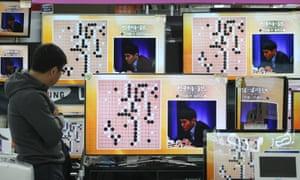 Professional Go player Lee Sedol takes on Google's artificial intelligence program, AlphaGo