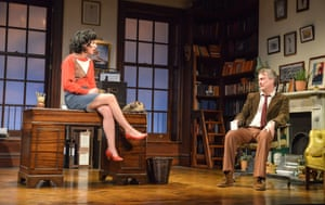 The big 40 tour ... Jessica Johnson as Rita and Stephen Tompkinson as Frank in this year's version (interrupted by coronavirus).