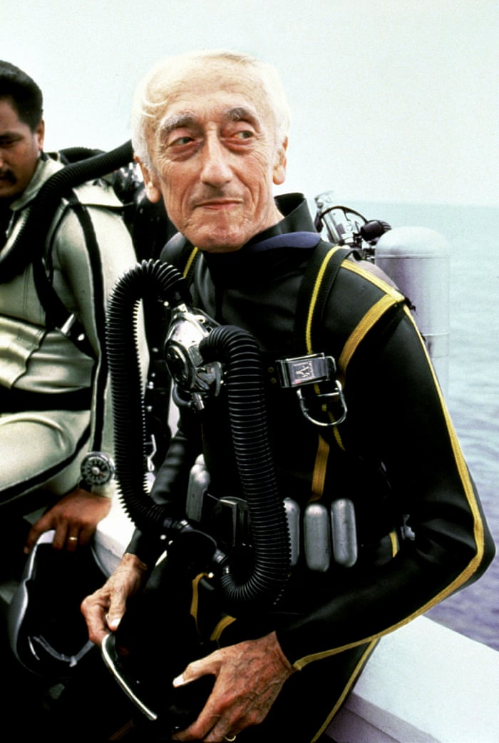 Jacques Cousteau sails again in new film | France | The Guardian