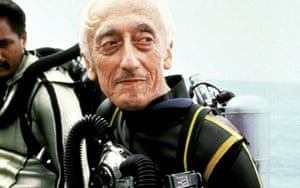 Jacques Cousteau in 1982.