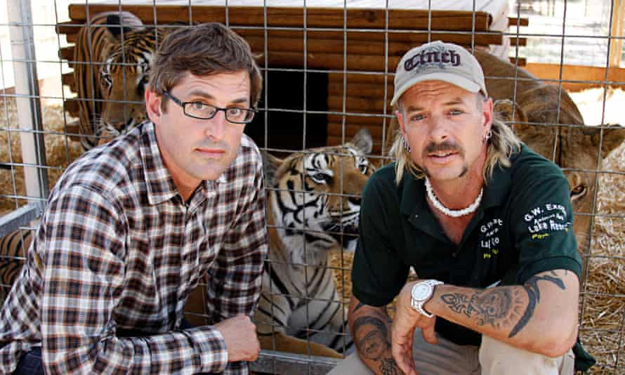 Louis Theroux and Joe Exotic in 2011