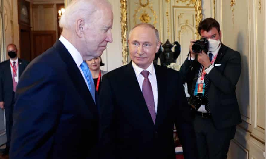 US President Joe Biden met his Russian counterpart Vladimir Putin in Geneva.