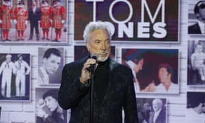 Tom Jones on the Today show