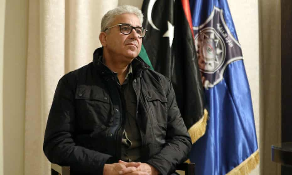 Libyan presidential candidate Fathi Bashagha