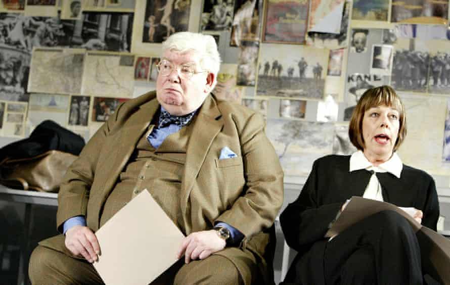 Richard Griffiths and Frances de la Tour in The History Boys.