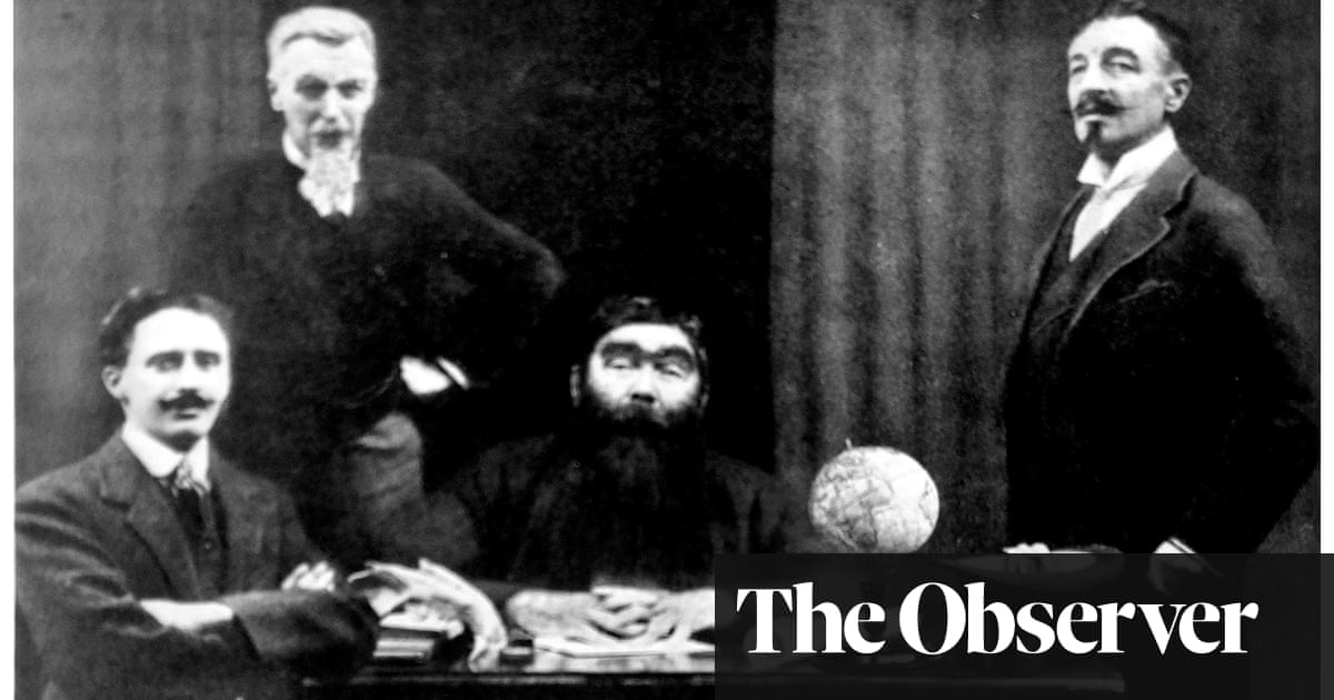 The photo is the clue: Arthur Conan Doyle's love for his Lost World hero - the guardian
