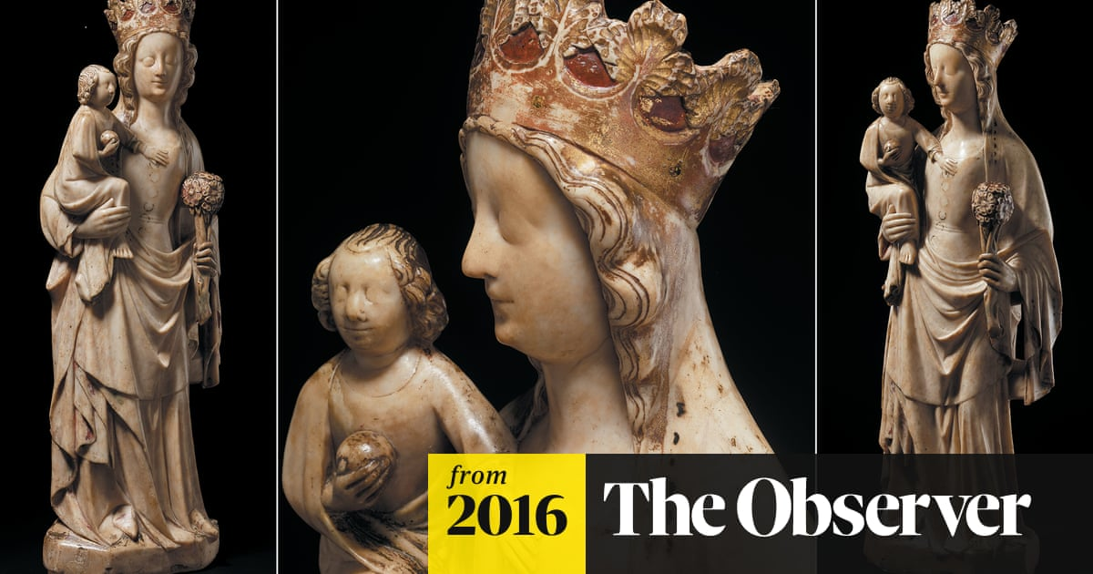 Medieval statue that survived persecution is back on show