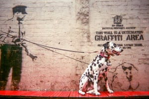 Cover of 2017 MyLondon calendar 'Graffiti area'